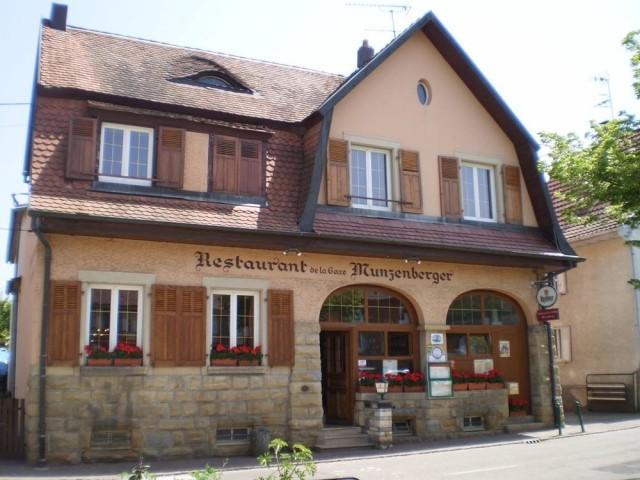 Restaurant de la gare Munzenberger
